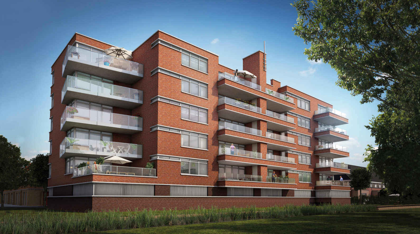 Appartementengebouw 's-Gravenduijn